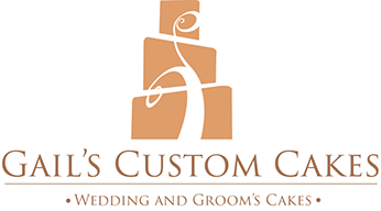 Gails Custom Cake Wedding and Groom Cakes Logo